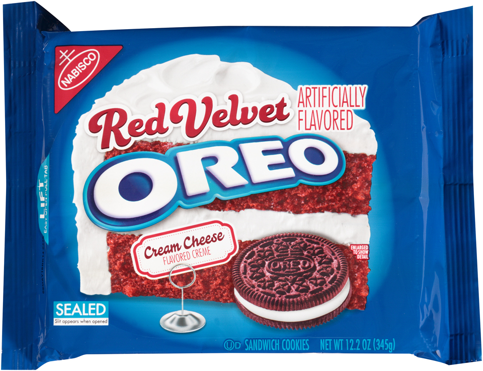Nabisco Oreo Sandwich Cookies Red Velvet