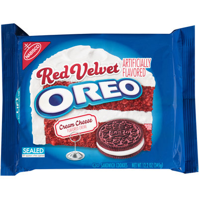 Nabisco Red Velvet Oreo Sandwich Cookies