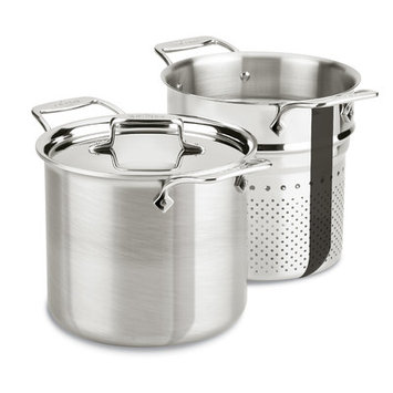 All Clad d5 Brushed Stainless Steel 7-qt. Multi Pot