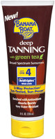 Banana Boat Deep Tanning W/Green Tea SPF 4 Sunscreen 8 Oz Tube