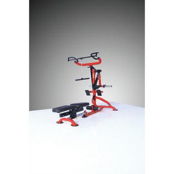 Powertec Inc. Strength Classic Levergym Compact Gym Color: Red