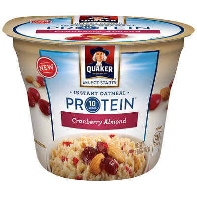Quaker® Select Starts Cranberry Almond Instant Oatmeal