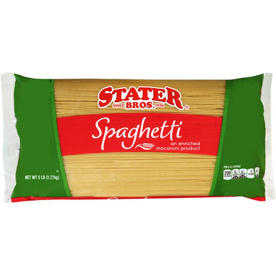 Stater Bros.® Spaghetti 5 lb. Bag