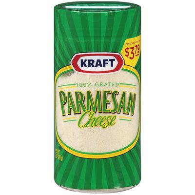 Kraft 100% Grated Parmesan Cheese 8 oz. Shaker