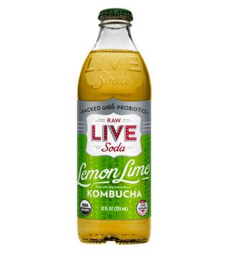LIVE® Soda Lemon Lime KOMBUCHA