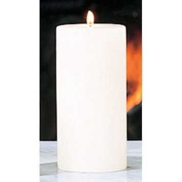 Global Views Unscented Pillar Candle Size: 3