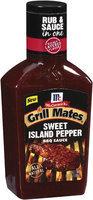 BBQ Sauces Sweet Island Pepper Grill Mates BBQ Sauce 19 Oz Plastic Bottle