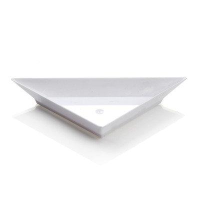 Restaurantware Triangolo Mini Appetizer Plate (100 Count) Color: White