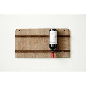 Creative Co-op Sonoma Wall Mount Wine Rack