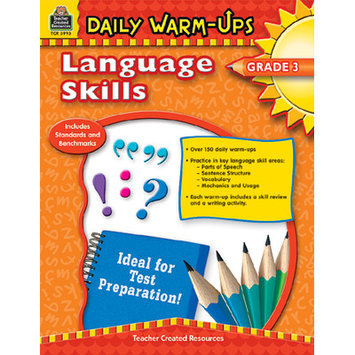 Teacher Created Resources 3993 Daily Warm-Ups: Language Skills Grade 3