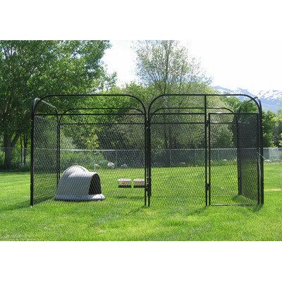 K9 Kennel Basic Expanded Metal Yard Kennel Size: 72