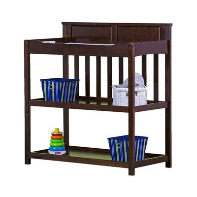 Dream on Me Zoey 3-in-1 Convertible Changing Table, Espresso