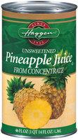 Haggen Unsweetened Pineapple Juice 46 Fl Oz Can