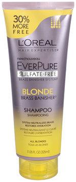 L'Oréal® Paris Hair Expertise™ EverPure Sulfate-Free Blonde Brass Banisher™ Shampoo 11.05 fl. oz. Tube