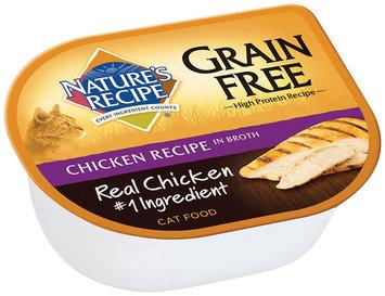Nature's Recipe® Grain Free Chicken Recipe in Broth Cat Food 2.75 oz. Cup