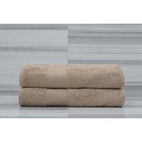Rogitex Loft 2 Piece Bath Towel Set Color: Almond