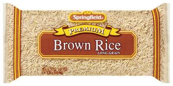 Springfield Brown Long Grain  Rice 16 Oz Bag