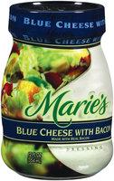 Marie's Blue Cheese W/Bacon Dressing 12 Oz Jar