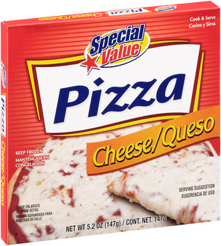 Special Value® Cheese Pizza 5.2 oz. Box