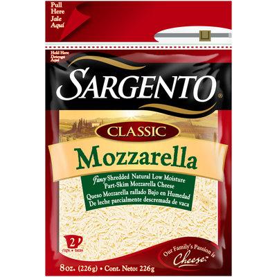 Sargento® Classic Mozzarella Fancy Shredded Cheese