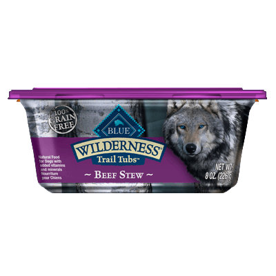 THE BLUE BUFFALO CO. BLUE™ Wilderness® Trail Tubs™ Beef Stew For Adult Dogs