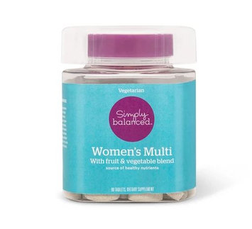 Simply Balanced™ Women's Multivitamin Tablets