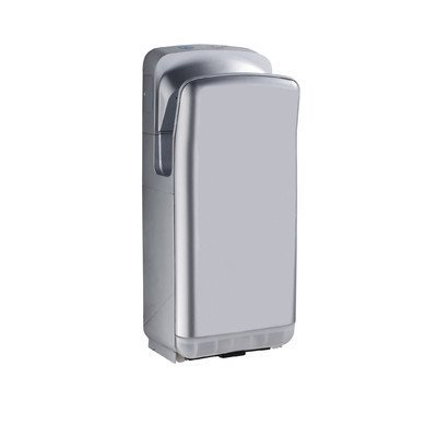 Whitehaus Collection Hands-Free Wall Mount 110 Volt Hand Dryer in Grey