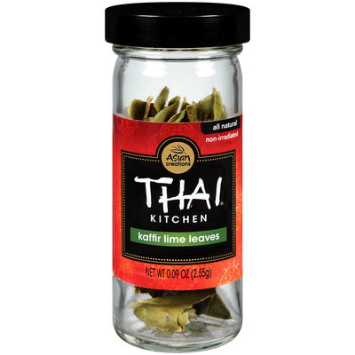 Thai® Kitchen Herbs & Spices Kaffir Lime Leaves .09 oz. Glass Bottle