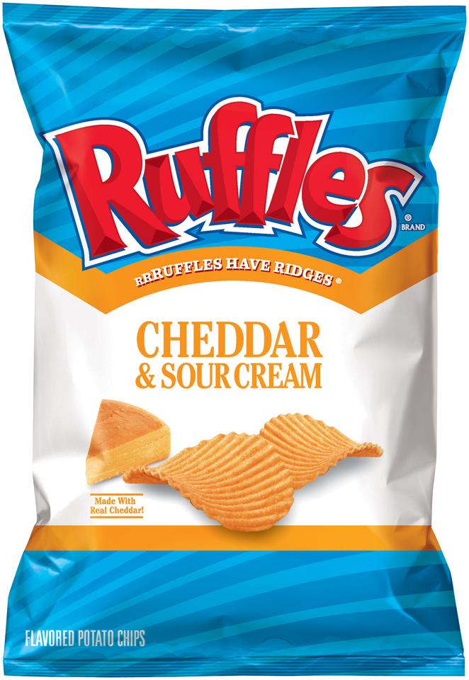 Ruffles Cheddar & Sour Cream Potato Chips