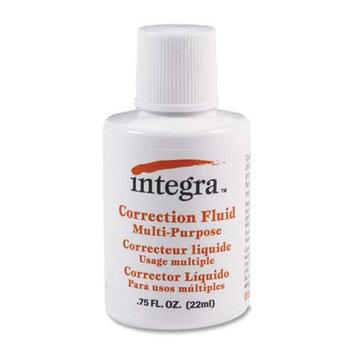 Integra Correction Fluid Multipurpose, 22ml, White