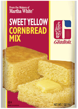 Martha White Gladiola Sweet Yellow Cornbread Mix 7 oz. Packet