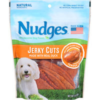 Nudges® Duck Jerky Cuts Wholesome Dog Treats 10 oz. Bag
