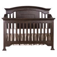 Evlr Sawyer 5-in-1 Convertible Crib Color: Caf Noir