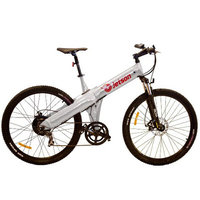 Jetson Bike Electric Mountain Bike Color: Silver