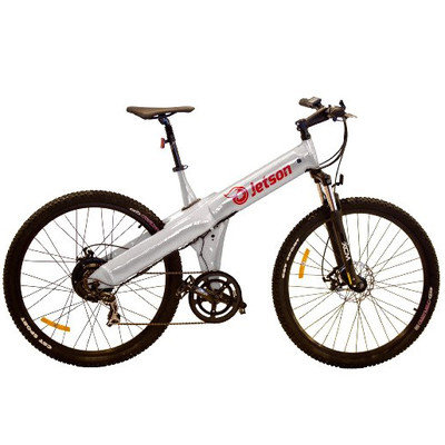 Jetson Bike Electric Mountain Bike Color: Silver