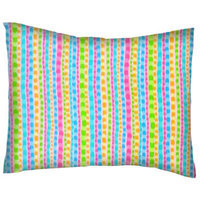 Stwd Pearl Stripes Cotton Flannel Crib/Toddler Pillow Case