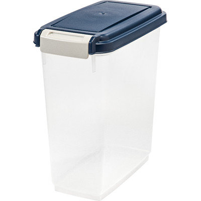 Iris Usa Inc. DIR301106 Storage Container With Airtight Navy Lid