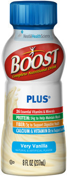 Boost Plus® Very Vanilla Complete Nutritional Drink 8 fl. oz. Bottle