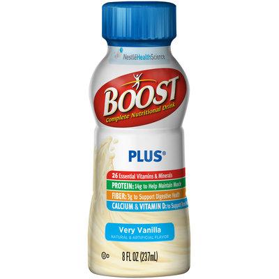 Boost Plus® Very Vanilla Complete Nutritional Drink 8 fl. oz. Bottle