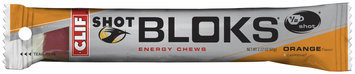CLIF Shot® Shot Bloks® Orange Energy Chews 2.1 oz. Pack