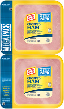 Oscar Mayer Chopped Ham Cold Cuts 2-16 oz. Packs