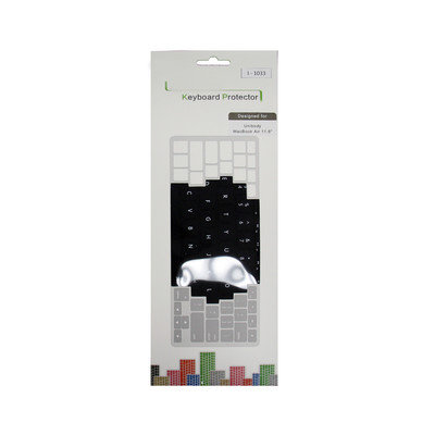 Ore International Black Keyboard Protector for Apple MacBook Air 11-Inch