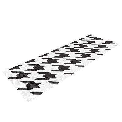 Kess Inhouse Spacey Houndstooth by Empire Ruhl Yoga Mat