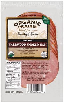 Organic Prairie Organic Slices Hardwood Smoked Ham 6 Oz Peg