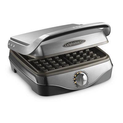Calphalon No Peek Stainless Steel Waffle Maker