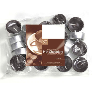 Light In The Dark Hot Chocolate Scented Tea light Candles (Set of 30)