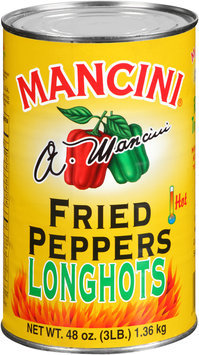 Mancini® Long Hots Fried Peppers 48 oz. Can