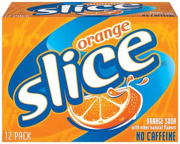 Slice® Orange Soda 12 Pack 12 fl. oz. Cans