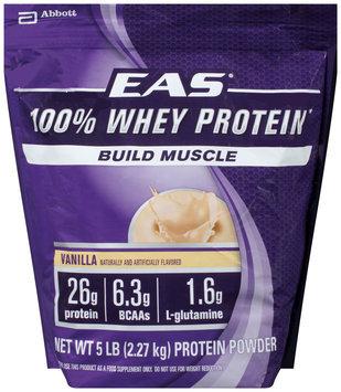 EAS® 100% Whey Protein Vanilla Protein Powder 5 lb. Bag