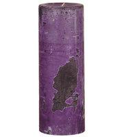 Oddity, Inc. Weathered Wild Plum Pillar Candle Size: 8
